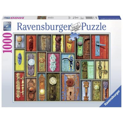 Ravensburger Ravensburger Puzzle 1000pc Antique Doorknobs