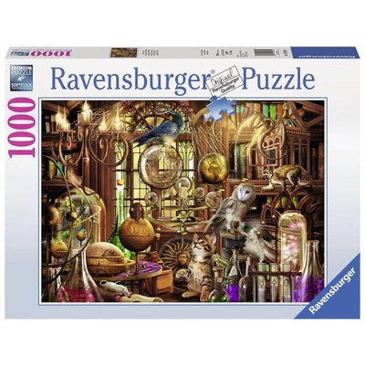 Ravensburger Ravensburger Puzzle 1000pc Merlin's Laboratory