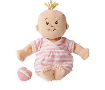 Baby Stella Doll Peach with Blonde Hair