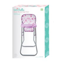 Baby Stella Doll Baby Stella Highchair Blissful Bloom