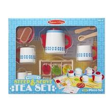 Melissa & Doug Melissa & Doug Play Food Steep & Serve Tea Set