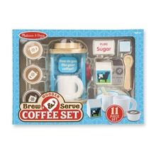 Melissa & Doug Melissa & Doug Play Food Brew & Serve Coffee Set