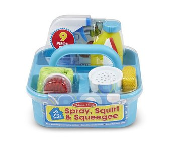 Melissa & Doug Cleaning Spray, Squirt & Squeegee