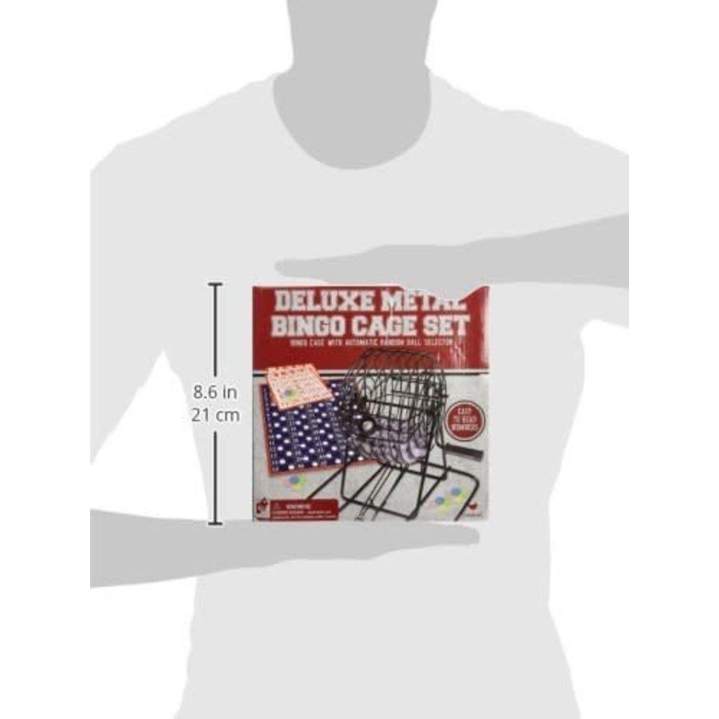 Cardinal Game Deluxe Metal Bingo Cage