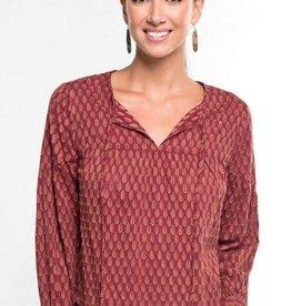 love stitch jacquard top