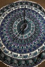 Evergreen tapestry blankets