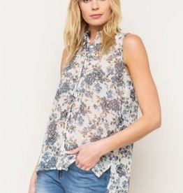 Mystree floral button down