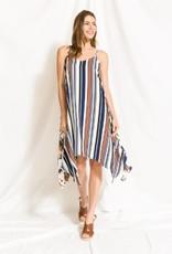 Mystree striped hank dress