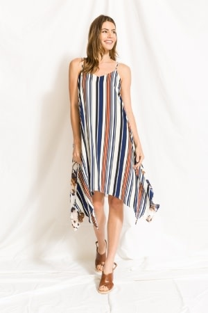 Mystree striped hank dress