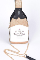 LA showroom champagne purse