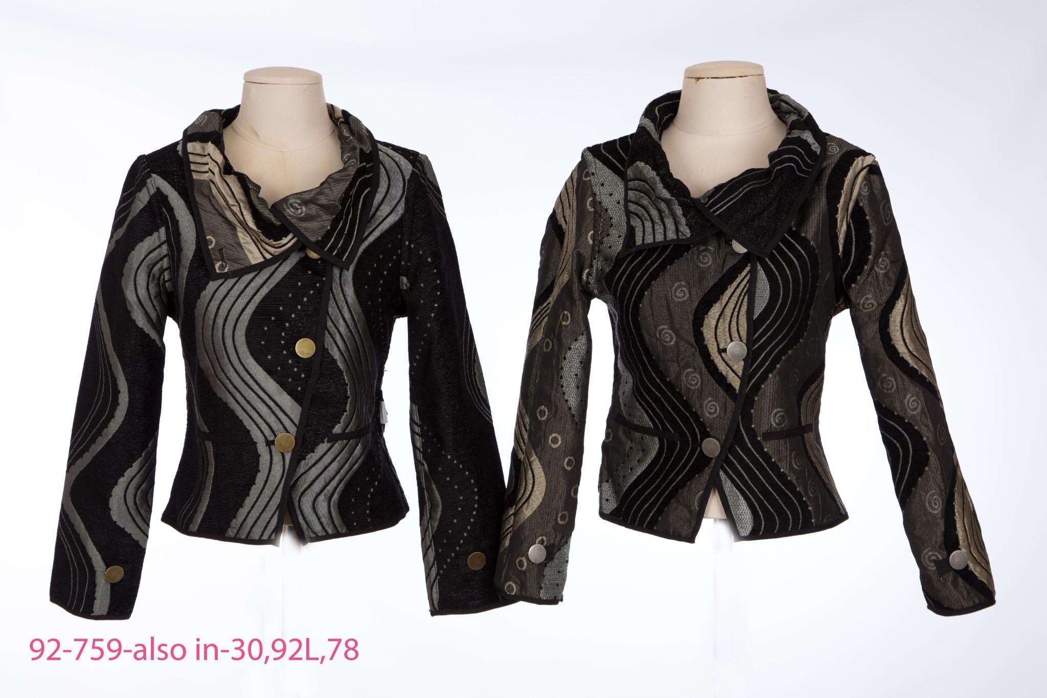 I-Reversibles Fold Over Jacket 92