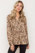 hem and thread Leopard top