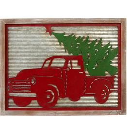 Capabunga Red Truck xmas tree