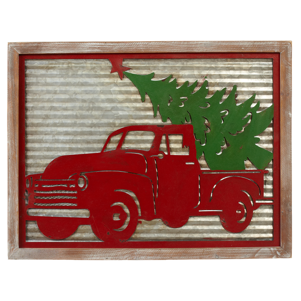 Capabunga Red Truck xmas tree
