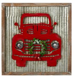 Ganz red truck wreath
