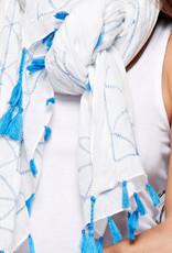 love stitch Tassel scarf