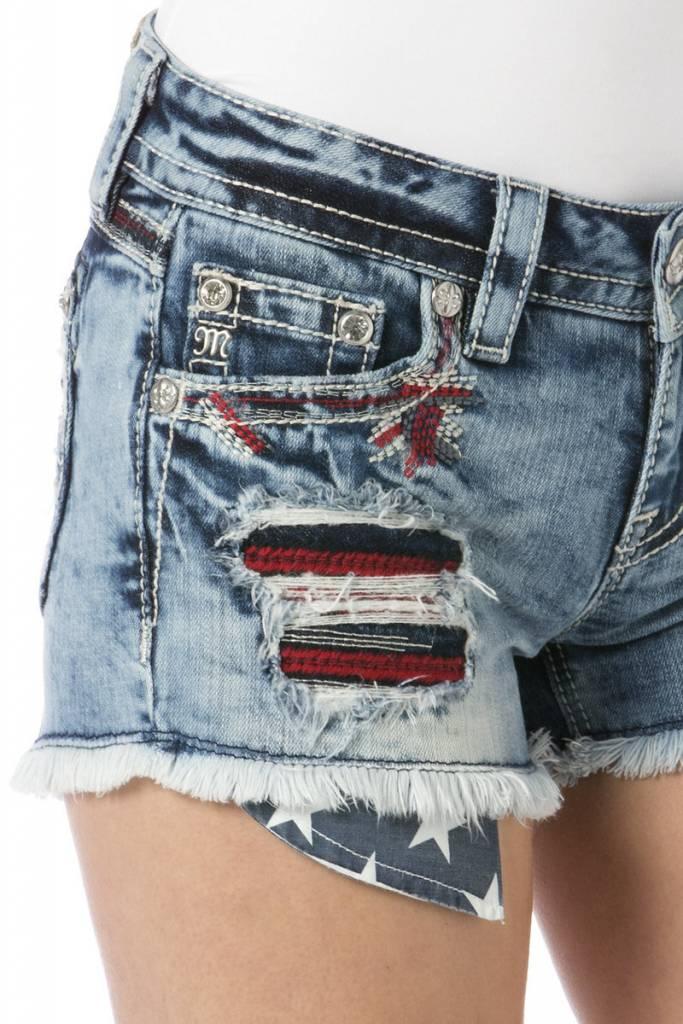 Miss Me Miss Me Vintage Americana shorts
