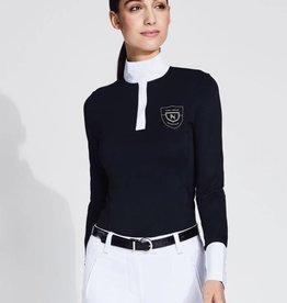 Asmar Asmar Lia 1/4 Zip Technical Show Shirt Black