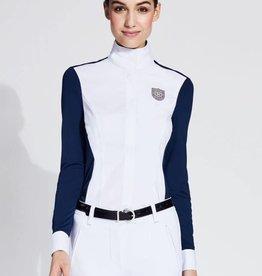 Asmar Asmar Nova Sport Show Shirt White/Navy