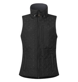 Kerrits Kerrits Quilted Houndstooth Vest Black