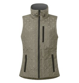 Kerrits Kerrits Quilted Houndstooth Vest Stone