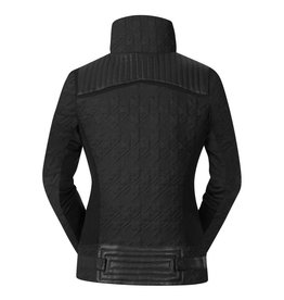 Kerrits Kerrits Eq Quilted Moto Jacket Black