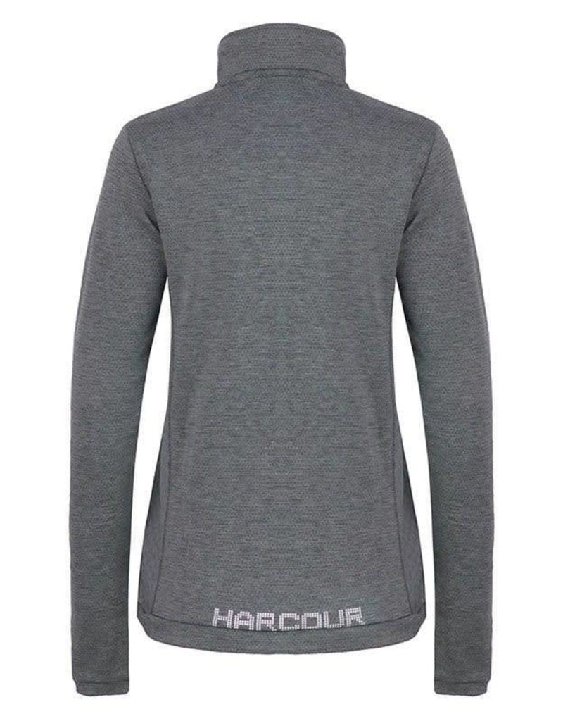 Harcour Electra Techline Winter Polo Melange Grey