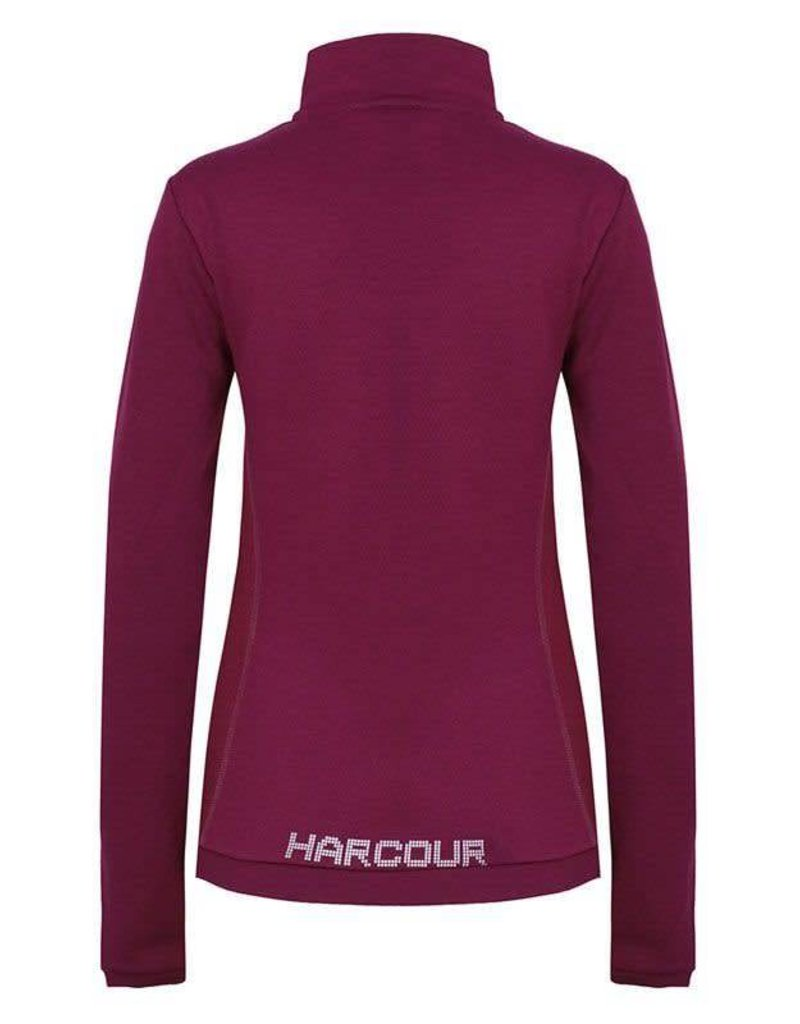 Harcour Electra Techline Winter Polo Blackcurrent
