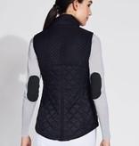 Asmar Carlyle Quilted Vest Black