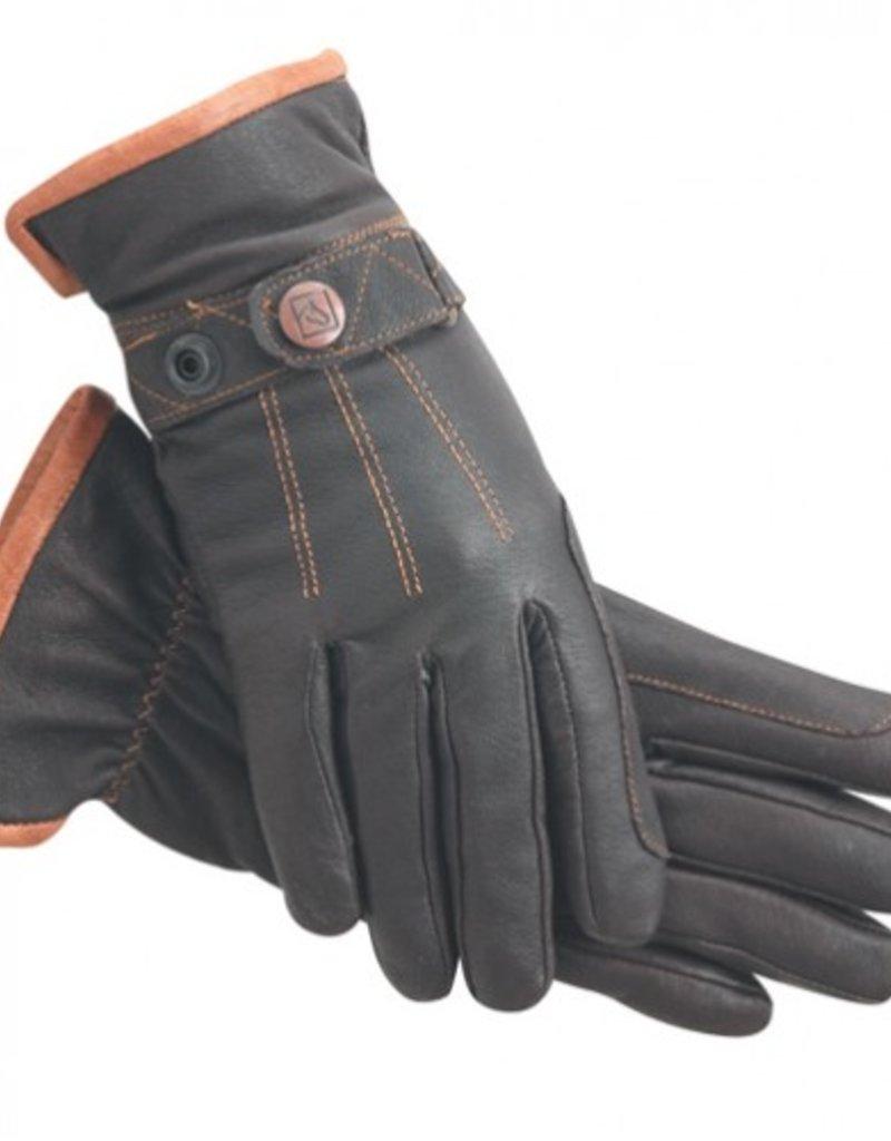 SSG Work 'N' Horse Lined Winter Gloves Brown