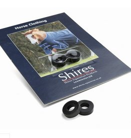 Shires Spare Surcingle Rubber Rings (Pair)