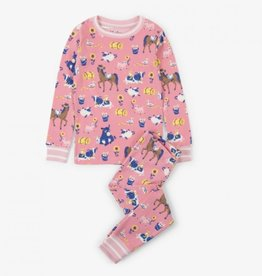 Hatley Hatley Kids Farm Friends Organic Cotton PJ Set