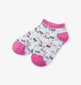Hatley Hatley Womens Ankle Socks - Ponies & Peonies