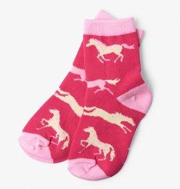 Hatley Hatley Kids Hearts & Horses Socks