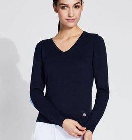 Asmar Asmar Bailee V-Neck Sweater Dusk