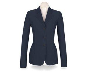 476511c2078 RJ Classics Harmony Ladies Mesh Show Coat Navy - Willow Equestrian