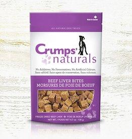 Crumps Naturals Crumps Beef Liver Bites 135g (4.7oz)
