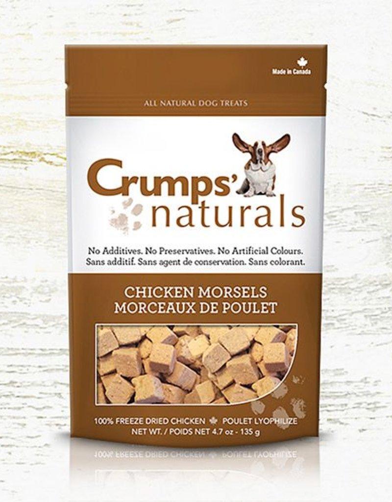 Crumps Naturals Chicken Morsels 135g (4.7 oz)