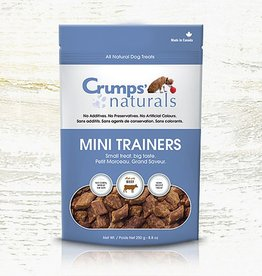 Crumps Naturals Crumps Mini Trainer Beef (semi-moist) 250g (8.8oz)