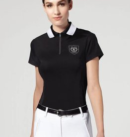 Asmar Asmar Eros Short Sleeve Polo Shirt Black