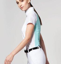 Asmar Asmar Iris Short Sleeve Show Shirt Aquamarine