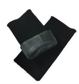 Equifit Gelbands For the Rider Black Short (Pair)