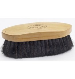 Equi-Essentials Wood Back Dandy Brush with Horse Hair Bristles 6""