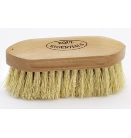 Equi-Essentials Wood Back Dandy Brush with Med Stiff Tampico Bristles 6""
