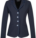 Equiline Christine Soft Shell Show Jacket Navy/Royal Pipe