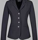 Equiline Christine Soft Shell Show Jacket Black/Grey Pipe