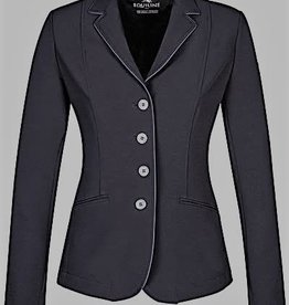 Equiline Equiline Christine Soft Shell Show Jacket Black/Grey Pipe