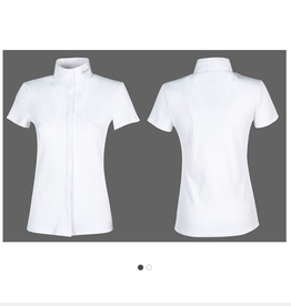 Equiline Equiline Cecil Short Sleeve Show Shirt White