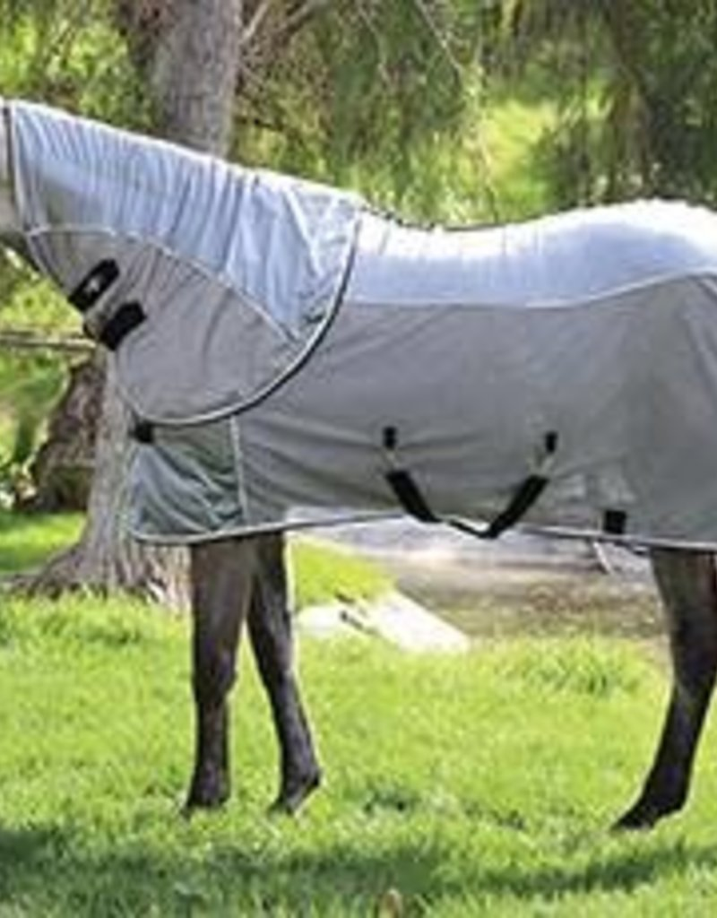 Professional's Choice Comfort-Fit Fly Sheet Charcoal/Black