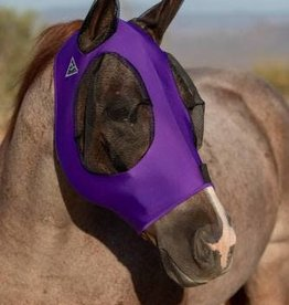 Professional's Choice Professional's Choice Comfort Fit Lycra Fly Mask Purple